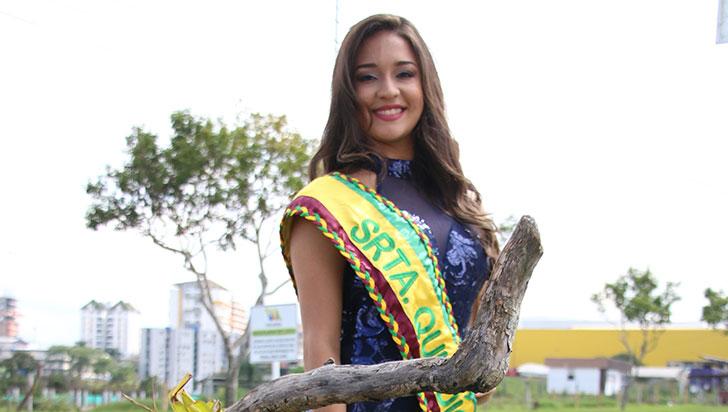 Luisa Cruz es Quindío en el reinado internacional del Joropo