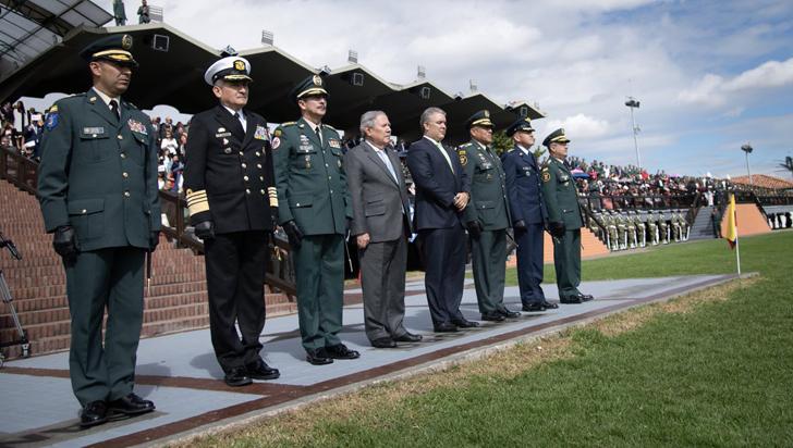 Presidente Duque defiende la idoneidad de la cúpula militar colombiana