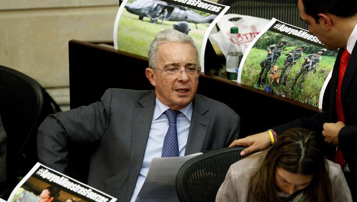Uribe convoca a marchar contra fallo de Corte sobre sustancias psicoactivas