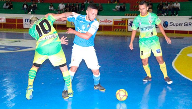 Caciques ganó en Pereira y sigue de líder perfecto de la Copa Futsalón