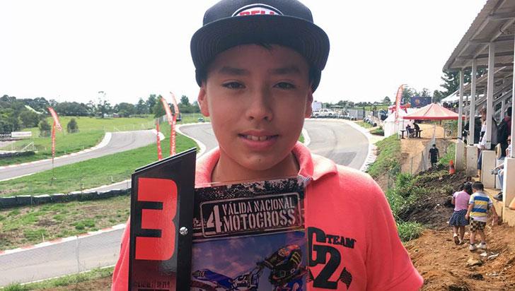Juan José Giraldo será Colombia en Copa Latinoamericana de Minicross