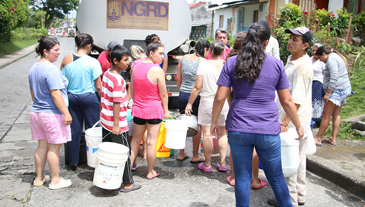 Por falta de agua, vacaciones escolares en Montenegro inician este martes 11 de junio