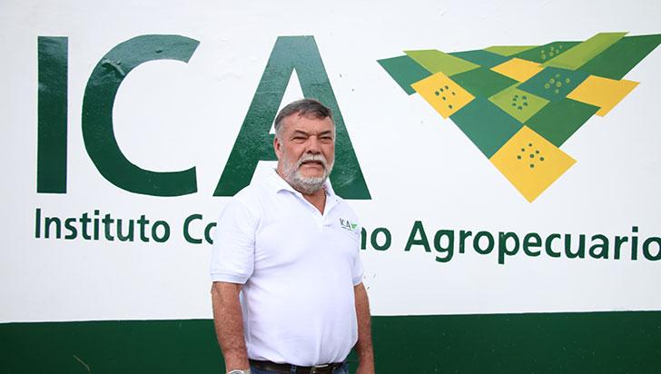 """""""Me siento orgulloso de ser del agro"""": empleado más antiguo del ICA en Colombia"""