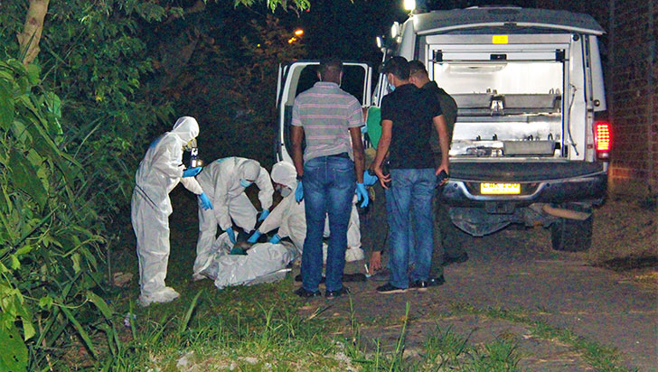 Wílmer Chacón sería la identidad de la persona hallada muerta en Montenegro