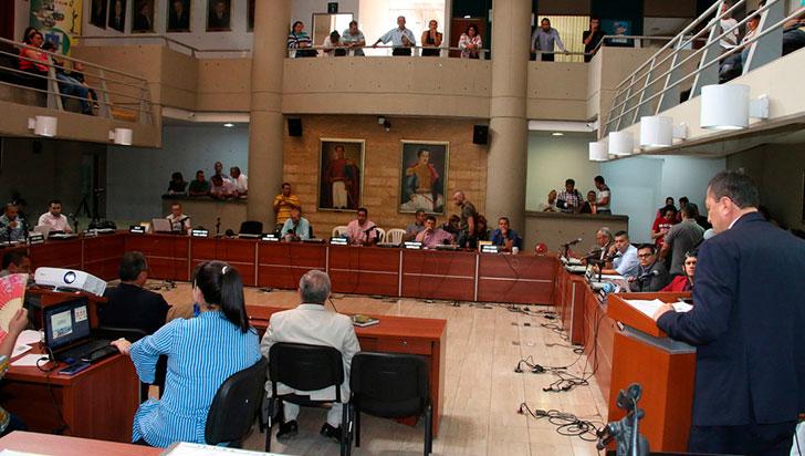 Proyecto de adición presupuestal, nuevamente a debate en el concejo