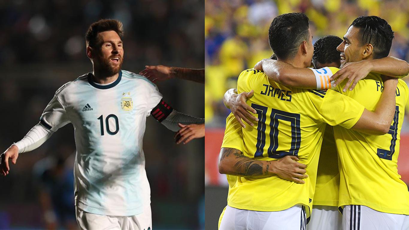 Diez datos imprescindibles de los partidos entre Argentina y Colombia