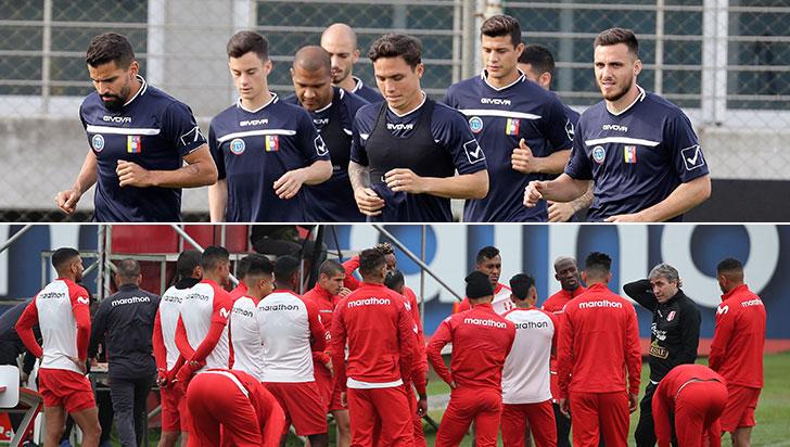 Venezuela-Perú, por una ventaja en el grupo A