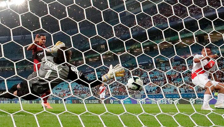 Venezuela y Perú igualaron sin goles en el segundo partido de la Copa América
