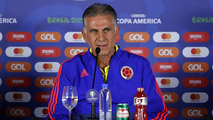 """""""Estamos contentos con el resultado, pero es solamente el principio"""": Carlos Queiroz"""