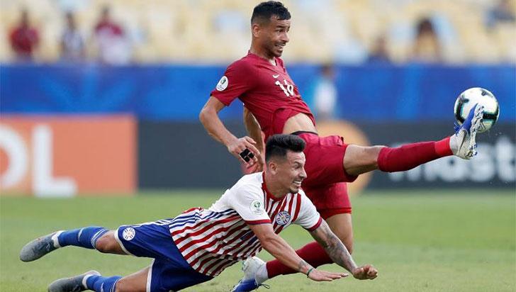 Sorpresivo empate entre Paraguay y Catar por la Copa América