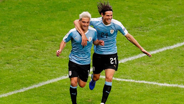 Uruguay entró en la lista de las selecciones que han anotado 400 goles