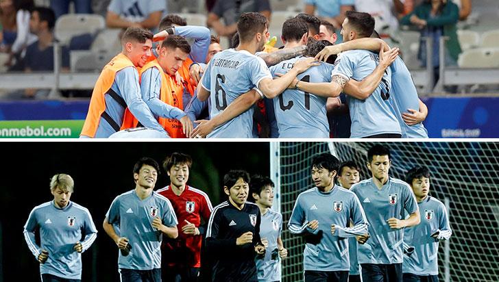 Uruguay enfrenta a Japón motivado por los tres puntos y clasificación
