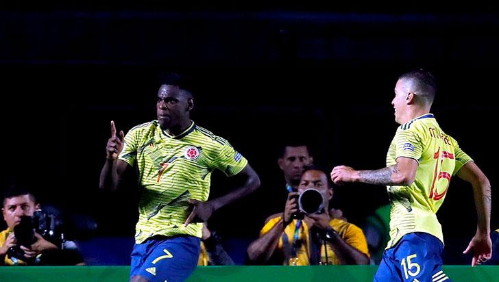 Colombia derrotó 1-0 a Catar y aseguró su clasificación a cuartos de la Copa América