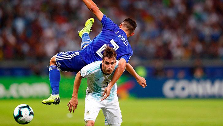 Argentina y Paraguay firmaron un empate que no los ayudó