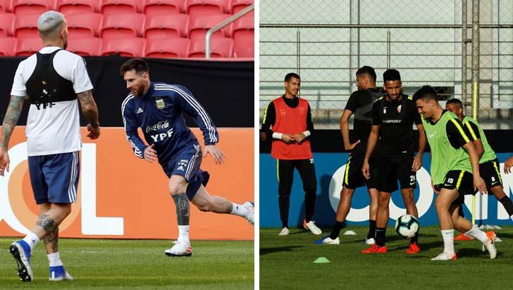 Argentina por la mejora, Catar a hacer historia en Copa