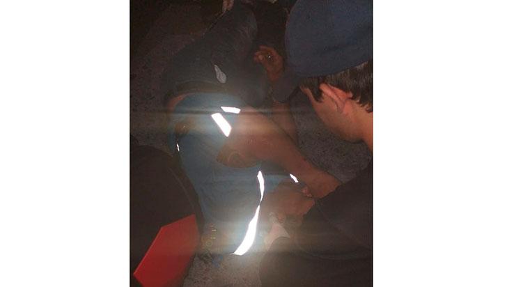 Accidente de tránsito se registró en el Zuldemayda
