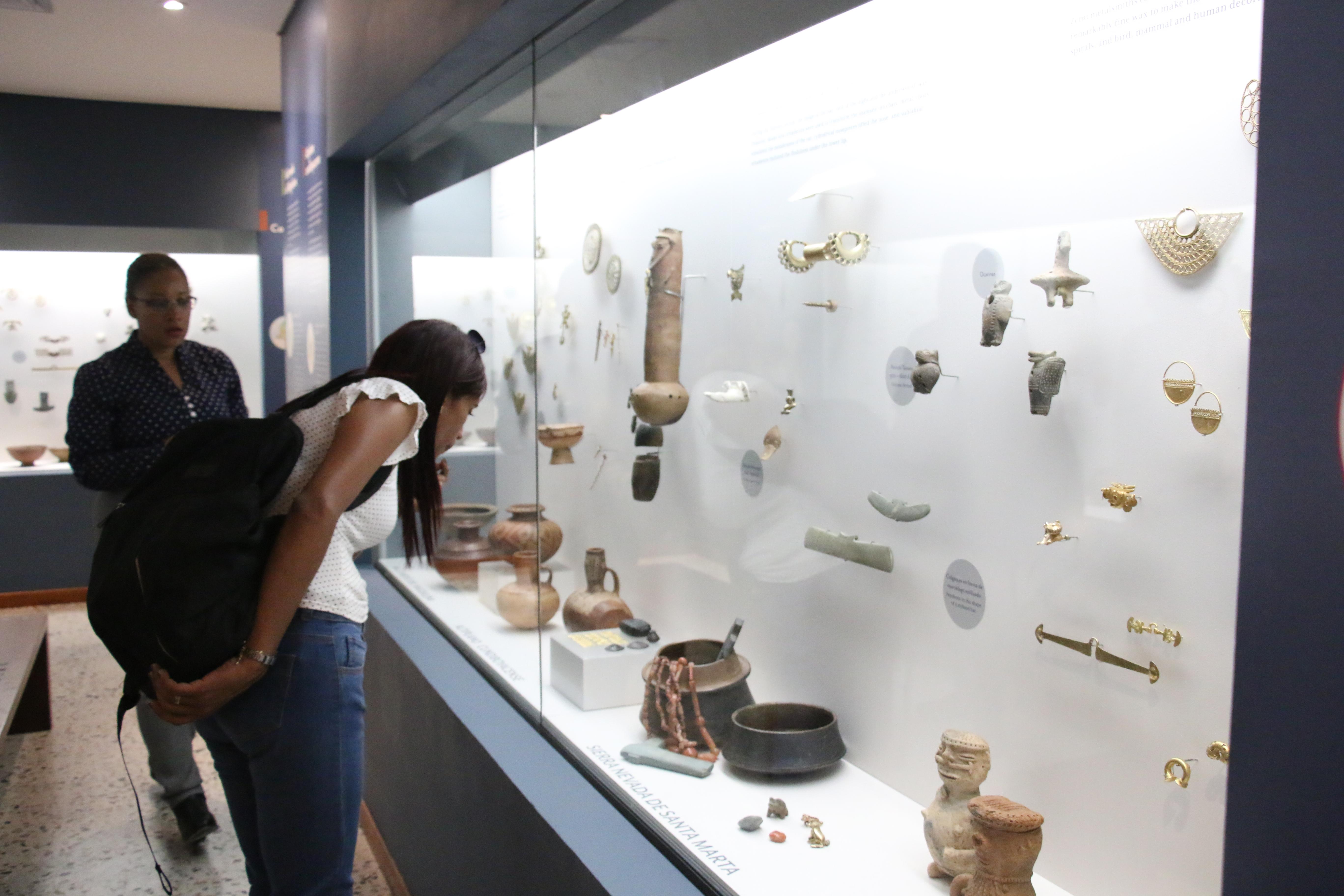 Este martes, sede del museo del Oro con apertura temporal