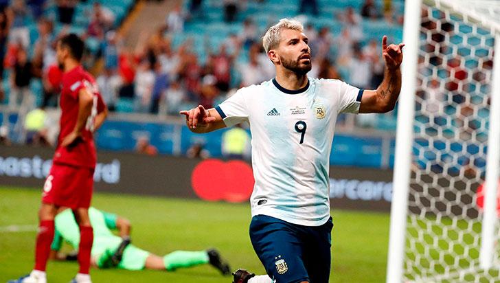 Argentina a cuartos, como segundo del grupo B