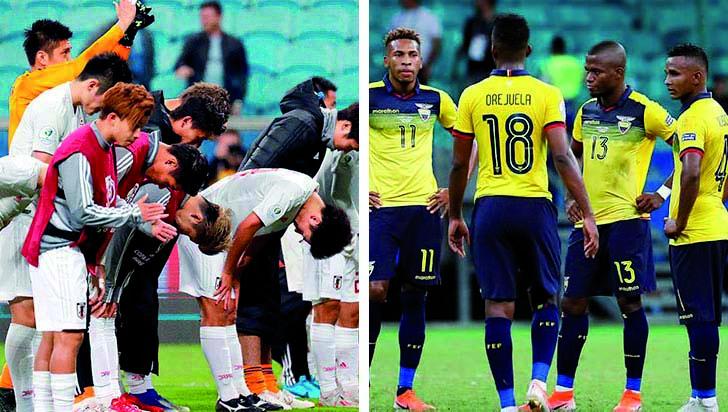 Japón, por la clasificación ante un Ecuador en crisis deportiva