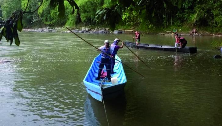 Autoridades identificaron personas desaparecidas en el río De la Vieja