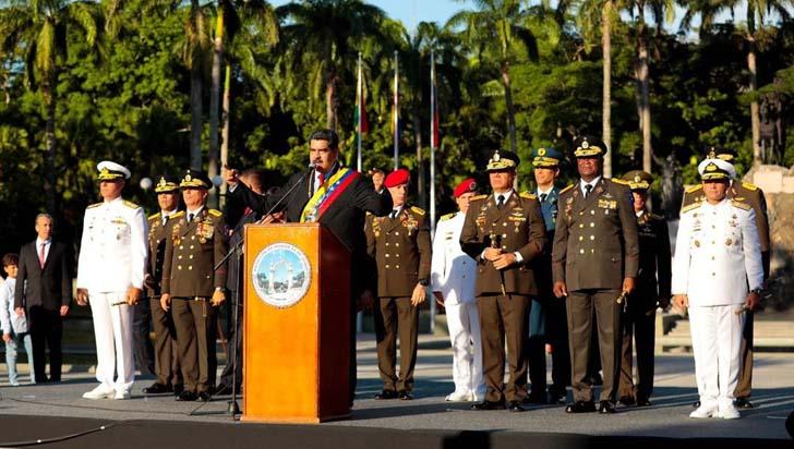 """""""Autorizo a nuestras FF.AA. a responderle a Duque con la fuerza y contundencia moral que merece"""": Maduro"""
