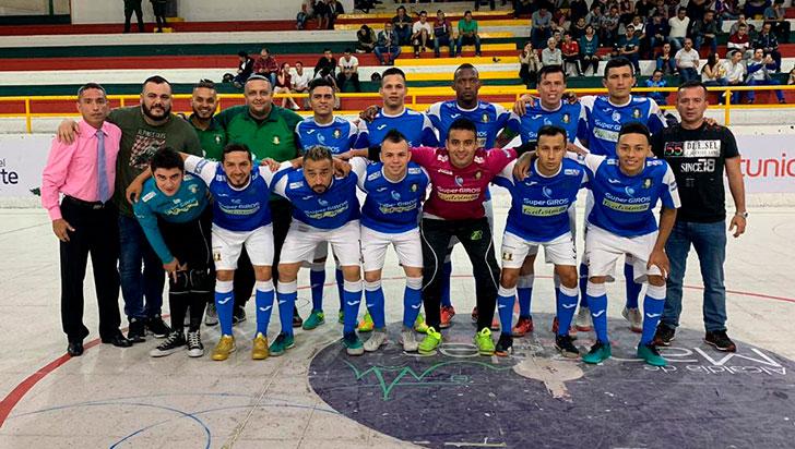 Caciques terminó primera vuelta de la Copa Futsalón como líder