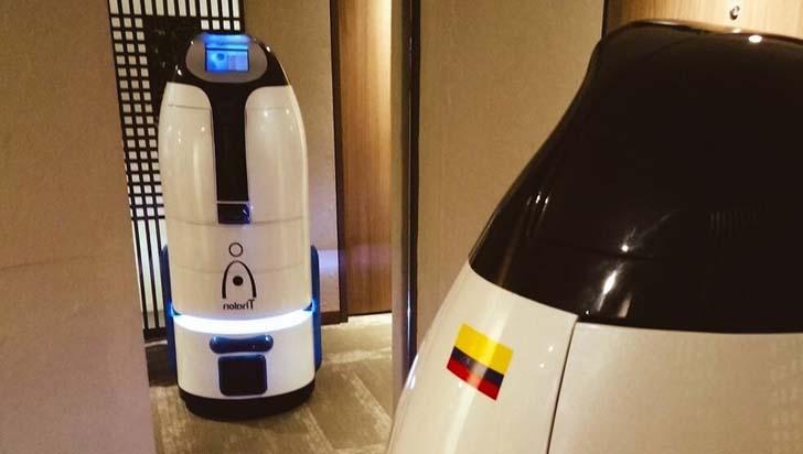 Thalon, el robot mucama 100 % colombiano