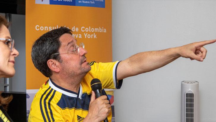 """Francisco Santos cree que EE.UU. está """"tranquilo"""" tras la bajada de cultivos de coca"""