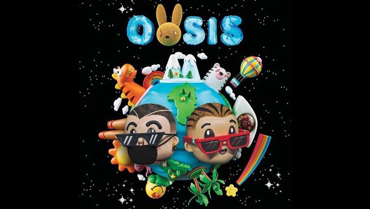Oasis, el nuevo álbum en conjunto de J Balvin y Bad Bunny