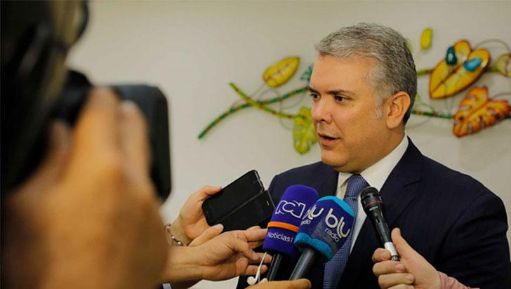 Duque dice que Santrich quiere evadir la justicia al dejar esquema seguridad