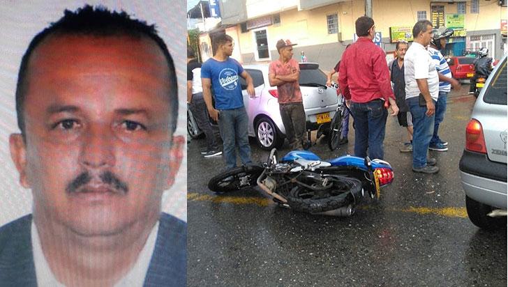 Hombre murió en accidente de tránsito