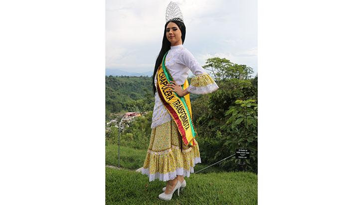 Khloe Solarte, reina transformista del Quindío