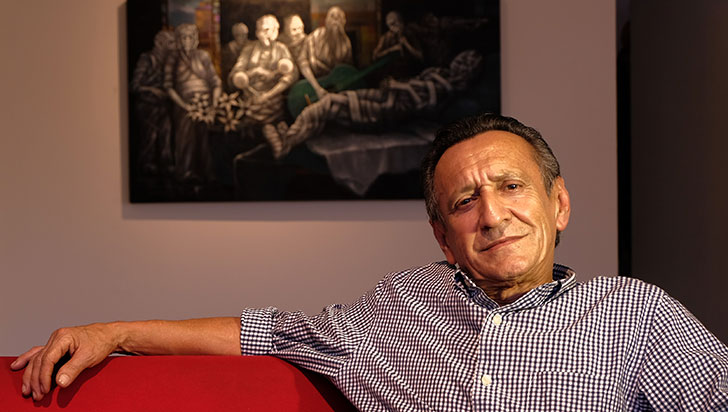 Las figuras en vendas de Herrera, exposición en la Alianza Francesa
