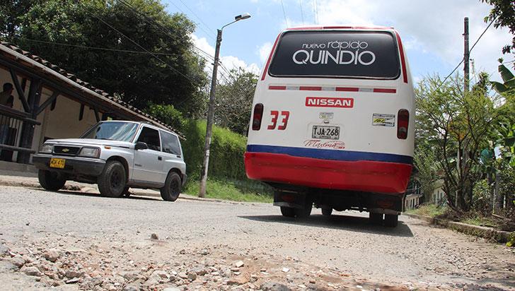 Arreglo de vía de Pueblo Tapao, en el limbo por problemas de alcantarillado