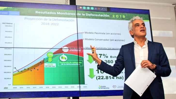 Colombia reduce tala y reporta 197.159 hectáreas deforestadas en 2018