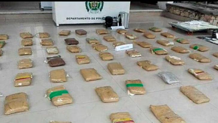 Condenado por transportar 50 paquetes de marihuana