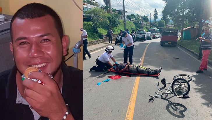 Joven perdió la vida luego de  chocar en su cicla contra un carro
