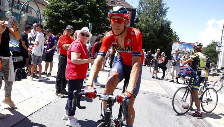 Dylan Teuns se impuso en la primera etapa montañosa; Ciccone, nuevo líder