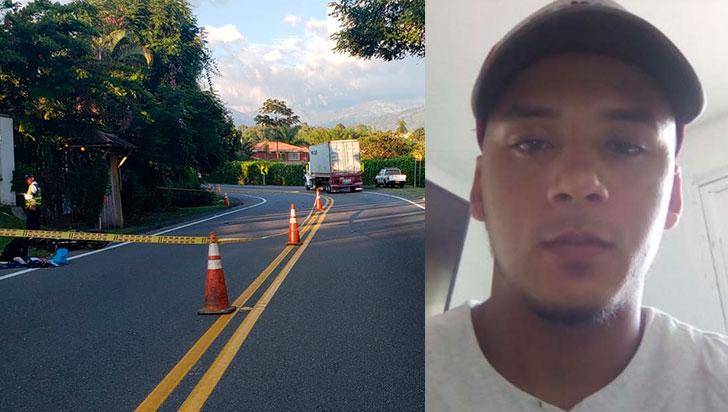 Accidente de tránsito cobró la vida de un motocilista