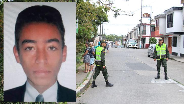 Wilson Arango fue asesinado en el barrio Limonar de Armenia