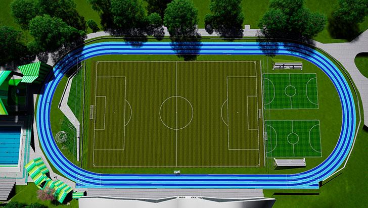 La universidad del Quindío tendrá mejores escenarios deportivos
