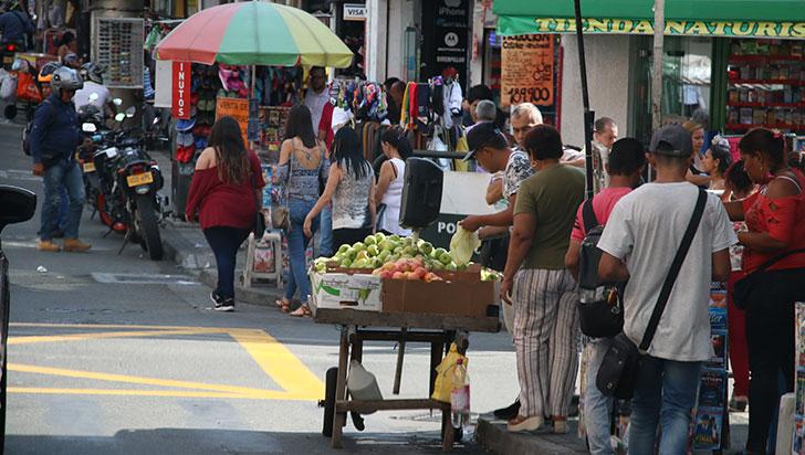 Comerciantes informales, nuevamente se apoderaron de las calles