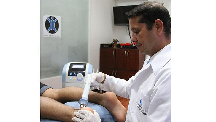 Ondas de choque, resultados satisfactorios para el 100% de los pacientes