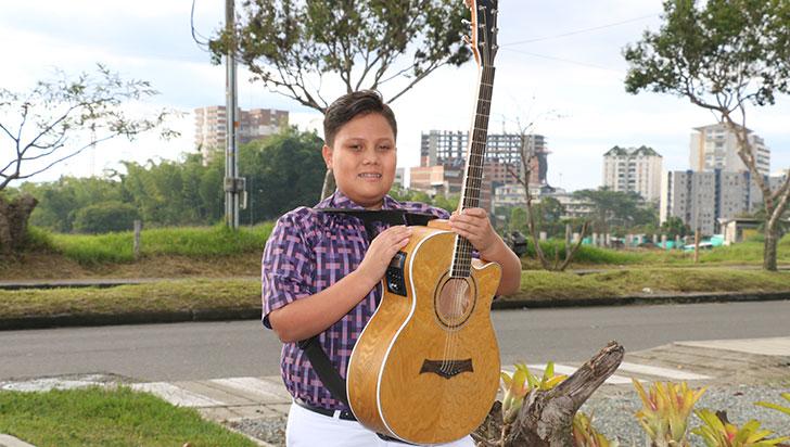 Pablo Correa representará al Quindío en el festival Colombia Canta y Encanta