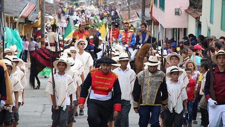 Festival Camino del Quindío, este año más que desfile, historia y tradición