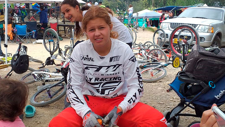 """""""Veo a Silvana Muñoz ganando el oro"""", Juan Idárraga, preseleccionador de BMX"""