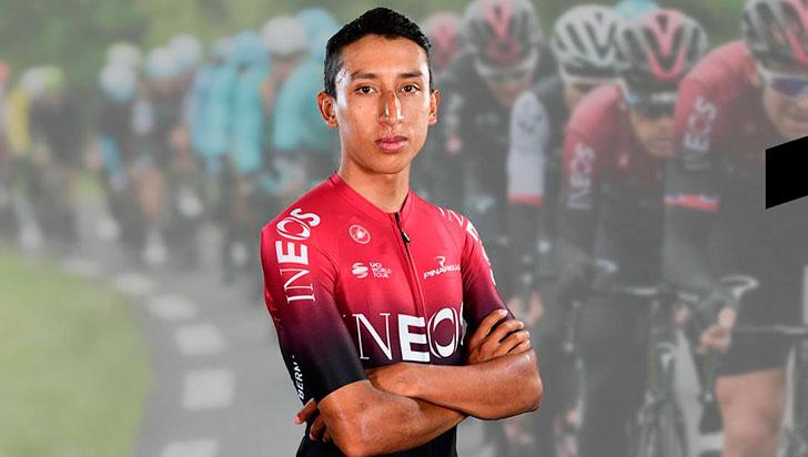 Egan Bernal, a mantenerse  en lo alto del Tour de Francia