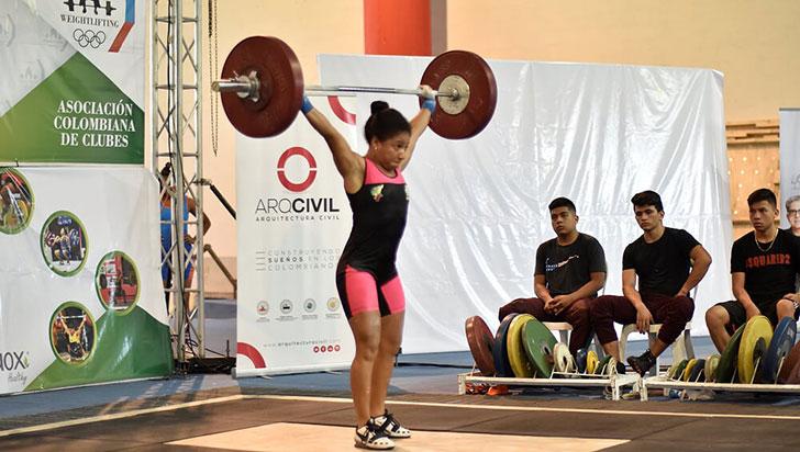 Quindío ganó siete medallas en levantamiento de pesas