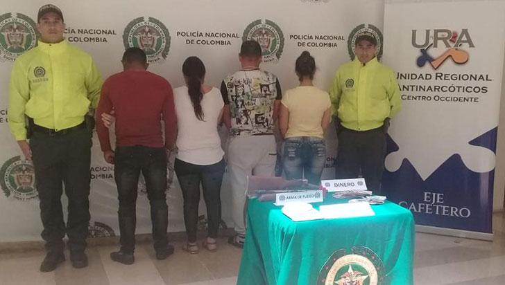 Cuatro personas de una banda, capturadas en Córdoba