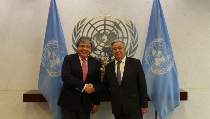 Gobierno dice ante ONU que sigue reforzando seguridad de exmiembros de Farc